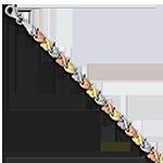 14K Gold & Sterling Silver Bracelets