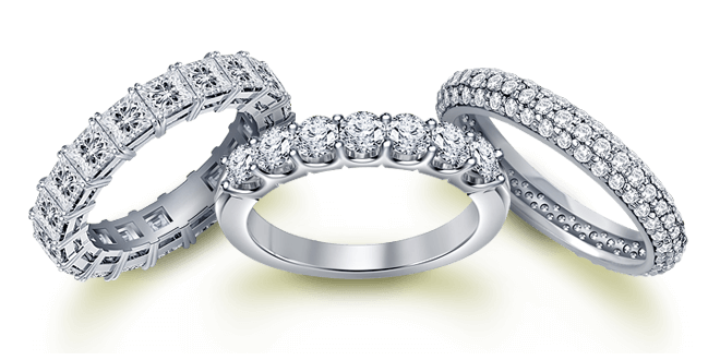 wedding anniversary ring - Cheap Diamond Wedding Rings